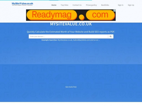 mysitevalue.submitbacklink.com